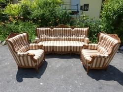 Neobarokk kanapé, fotel