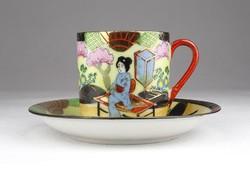 0X456 Régi jelzett kínai porcelán kávéscsésze
