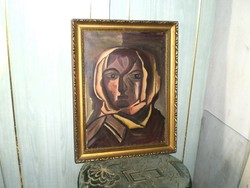 """Barcsay Jenő """"Portré"""""""