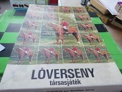 Lóverseny a képeken látható állapotban dobozában gyűjteményből