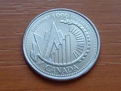KANADA 25 CENT 1999 DECEMBER EMLÉK