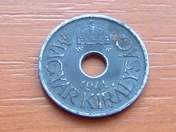 MAGYAR KIRÁLYSÁG 20 FILLÉR 1941 BP ACÉL