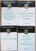 Magyar História sorozatból 10 db egyben eladó