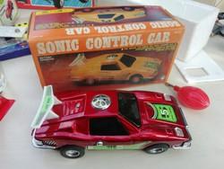 Sonic control racing car Me 882 állapotban dobozában gyűjteményből