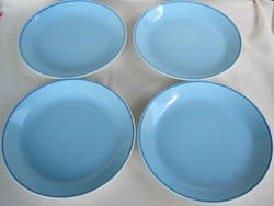 Gránit kerámia világoskék tányér 4 db