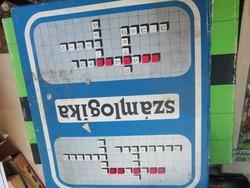 Lemezárugyár számlogika képeken látható állapotban dobozában gyűjteményből