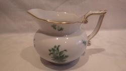 Herendi porcelán Apponyi mintás tejszín kiöntő