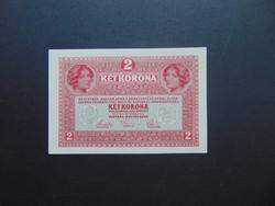 2 korona 1917 Szép bankjegy !  02
