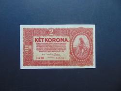 2 korona 1920 sorszám között pont szép bankjegy !