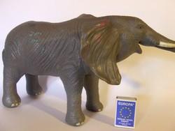 Érdekes, nagyméretű elefánt játék figura-majd fél méter hosszú