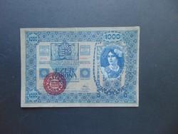 1000 korona 1902 Magyarország Felülbélyegzés !!!