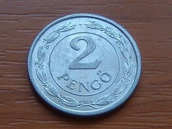 MAGYAR KIRÁLYSÁG 2 PENGŐ 1943 BP ALU.