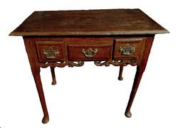 Angol II.Gyorgy korabeli asztal 1730 koruli