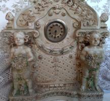 Antik barokk asztali óra