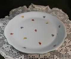 Antik Zsolnay kerek húsos tál ,tányér