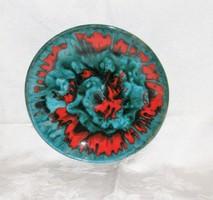 Lux Elek kerámia falitányér, falidísz 21 cm