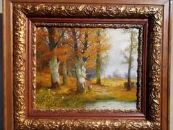 Adolf Kaufmann (1848 - 1916)- Őszi erdő