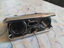 Ritka összecsukható zseb távcső Opera szemüveg Vintage