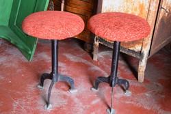 Retro fémtalpas székek