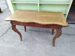 Antik fiókos íróasztal