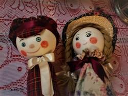 Kreatív kézműves babapár, Cica Mica és Róka Rudi?