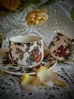 Sarreguemines fajansz teás csésze