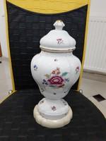 Ó  herendi nagyméretü fedeles váza