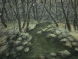 Zajty Ferenc (1886-1961) : Téli patak