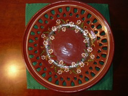 Alföldi kerámia tányér