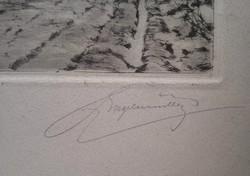 Engelmann(?) Ferdinánd Cseh festőművész alkotása