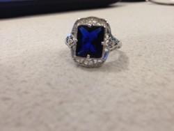 Nagyon szép igazi artdeco női gyűrű