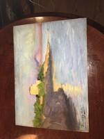 Ferenczy valer szignos festmény