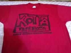 XL-es KOTTA Fesztiválos póló 1996-ból