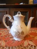 Zsolnay barokk, tollazott kávé kiöntő