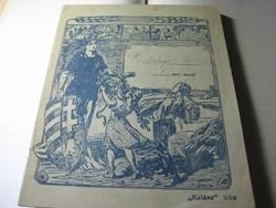 """"""" Irka füzet   gyöngy betűkkel  """"  Az 1920 as  évekből   16 x  20 cm"""