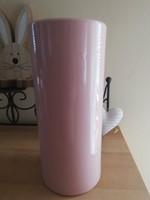 Rózsaszín csőváza 25 cm
