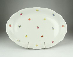 0X523 Régi Zsolnay porcelán pecsenyetál 33.5 cm