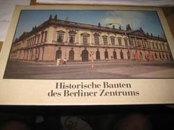 Berlin  , Historische Bauten  , ...belvárosi ,történelmi épületei  1986 ,  20 x 30 cm