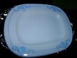 Antik vastag porcelán pecsenyés tál