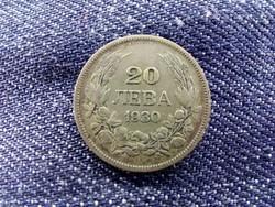 Berán Lajos - Bulgária III. Borisz (1913-1943) .500 ezüst 20 Leva 1930 BP (Budapest)