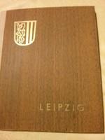 NDK retró Lipcse nosztalgia képeskönyv, fotók a szocializmus korából
