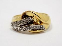 Köves arany gyűrű (ZAL-Au81428)