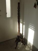 Régi fa állólámpa,lámpatest