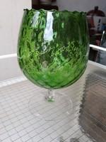 Régi üveg kehely-pohár