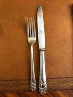Ezüst nagyvilla és nagy kés 11 személyre