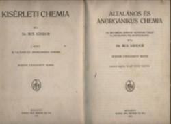 Dr. Rex Sándor :Általános és anorganikus chemia