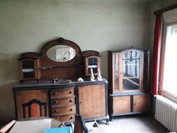 Antik tálalószekrény