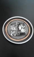 Szász Endre: Porcelán tál