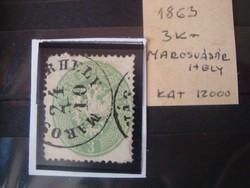 1863 3 kr Marosvásrhely!!Kat 12eFT