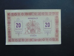 20 korona 1919 Miskolcz